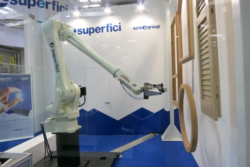 Роботы в мебельной промышленности