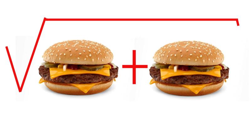 гамбургер - формула